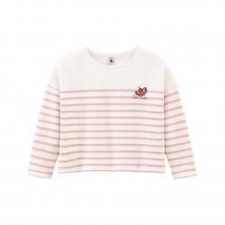 Girls' breton Top