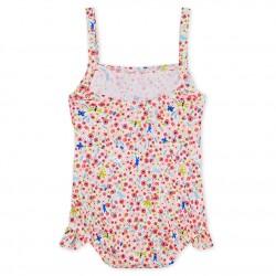 Baby girls' 1p striped print swimsuit