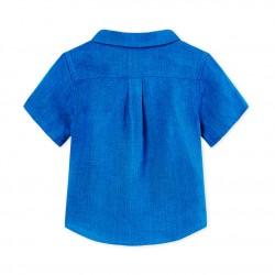 Baby boys' linen shirt