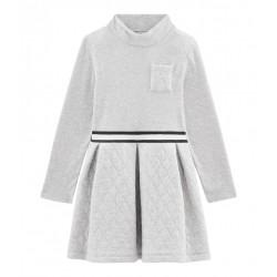 Girls' Roll-Neck Dress