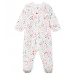 Baby Girls' Tube Knit Sleepsuit