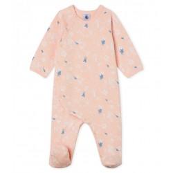 Baby Girls' Fleece Sleepsuit