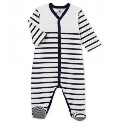 Babies' Velour Sleepsuit