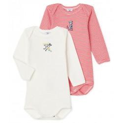 Baby Boys' Long-Sleeved Bodysuit - 2-Piece Set