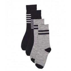 Boys' Long Warm Socks - 2-Piece Set