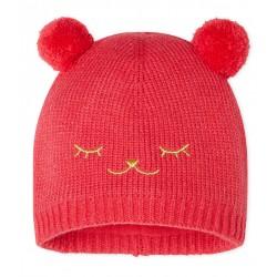 Baby Girls' Fleece-Lined Bonnet