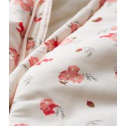 Baby Girls' Print Microfibre Snowsuit