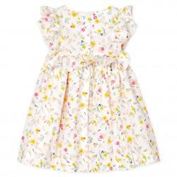 Baby Girls' Printed Short-Sleeved Dress