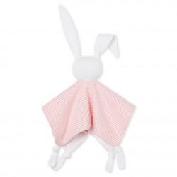 Babies' Ribbed Bunny Comforter