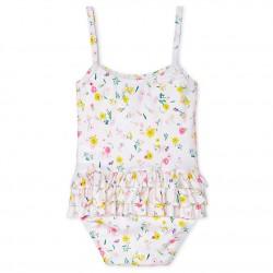 UPF 50+ swimsuit for baby girls