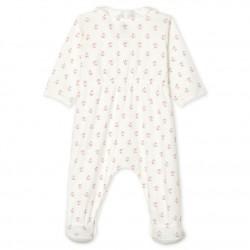 Baby Girls' Ribbed Sleepsuit