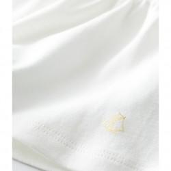 Baby Girls' Short-Sleeved Plain Blouse