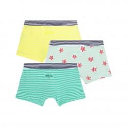 Boys' Boxer Shorts - 3-Piece Set