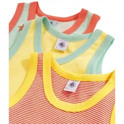 Boys' Vests - 3-Piece Set