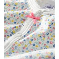 Baby Girls' Cotton/Linen Playsuit