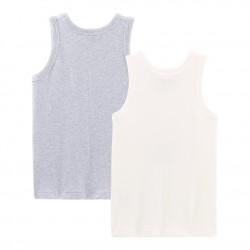 Boys' Vests - 2-Piece Set