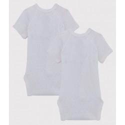 Newborn Babies' Short-Sleeved Bodysuit - 2-Piece Set