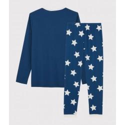 Boys' Starry Ribbed Pyjamas
