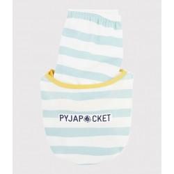 Boys' Panther Motif Ribbed Pyjamas