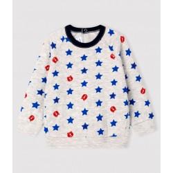 Baby boy's tubular knit sweatshirt