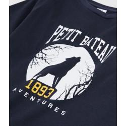 Boys Silkscreen Print T-shirt