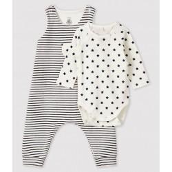 Baby's Tube Knit Clothing - 2-Piece Set