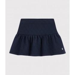 Girls' tubular knit skirt