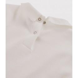 Girl's T-shirt with Peter Pan collar