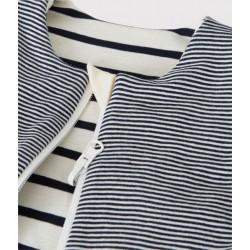 Babies' Striped Reversible Ribbed Sleeping Bag