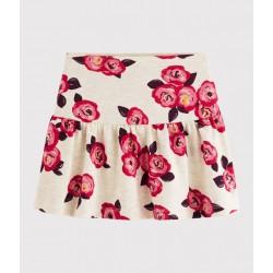 Girls' fleece skirt