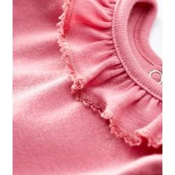 Baby girl's long-sleeved bodysuit