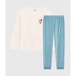 Girls' Velour Pyjamas