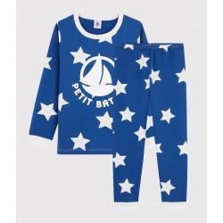 Boys' Starry Fleece Pyjamas