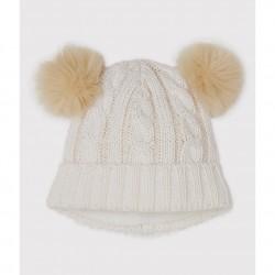 GIRLS' WOOLLY HAT
