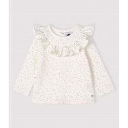 Baby girl's long-sleeved blouse