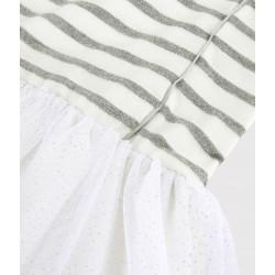 Girls' Short-Sleeved Dress