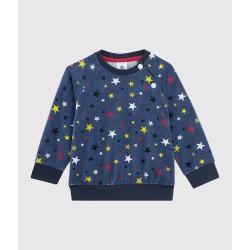 Baby boy's velour sweatshirt