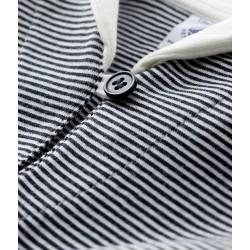 Baby boy's pinstriped t-shirt