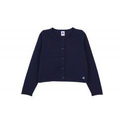 Girls' Cotton Cardigan