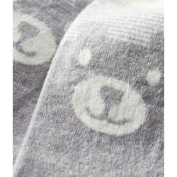 High-length baby socks