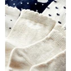 Pack of 5 pairs of baby socks