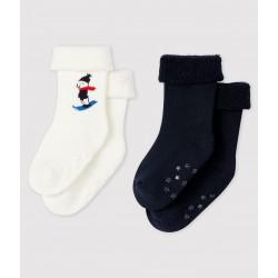 Pack of 2 pairs of baby socks