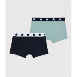 Boys' Organic Cotton Boxer Shorts - 2-Pack