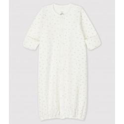 Babies' Starry Organic Cotton Jumpsuit/Sleeping Bag