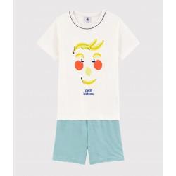 Boys' Fruit Motif Cotton Short Pyjamas