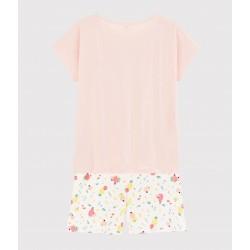 Summer Fruit Pattern Organic Cotton Short Pyjamas